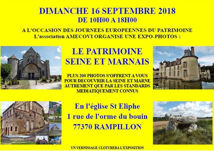 Journées du patrimoine 2018 - Expo-photos
