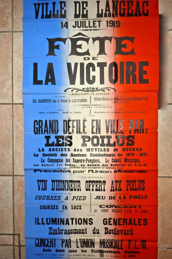 Journées du patrimoine 2018 - Exposition temporaire : centenaire de 1918.