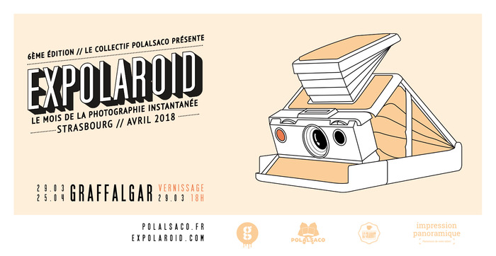 Expolaroid Strasbourg 2018  // Graffalgar