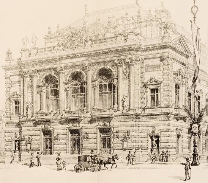 Journées du patrimoine 2018 - Visite libre de l'exposition 130e anniversaire de l'Opéra Comédie