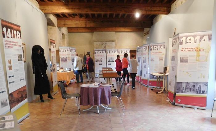 Journées du patrimoine 2018 - Exposition «14-18 des villages Européens».