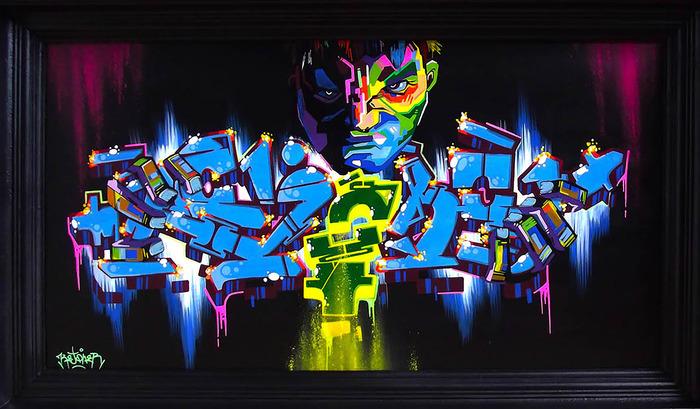 Exposition 360° du graffeur Kejo