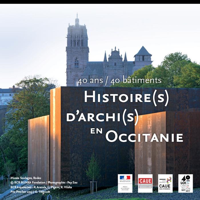 Journées du patrimoine 2018 - Exposition : 40 ans / 40 bâtiments, histoire(s) d'Archi(s) en Occitanie
