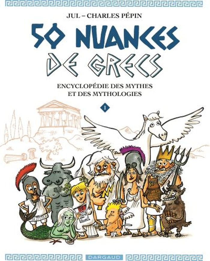 Exposition : 50 nuances de Grecs, planches originales de Jul