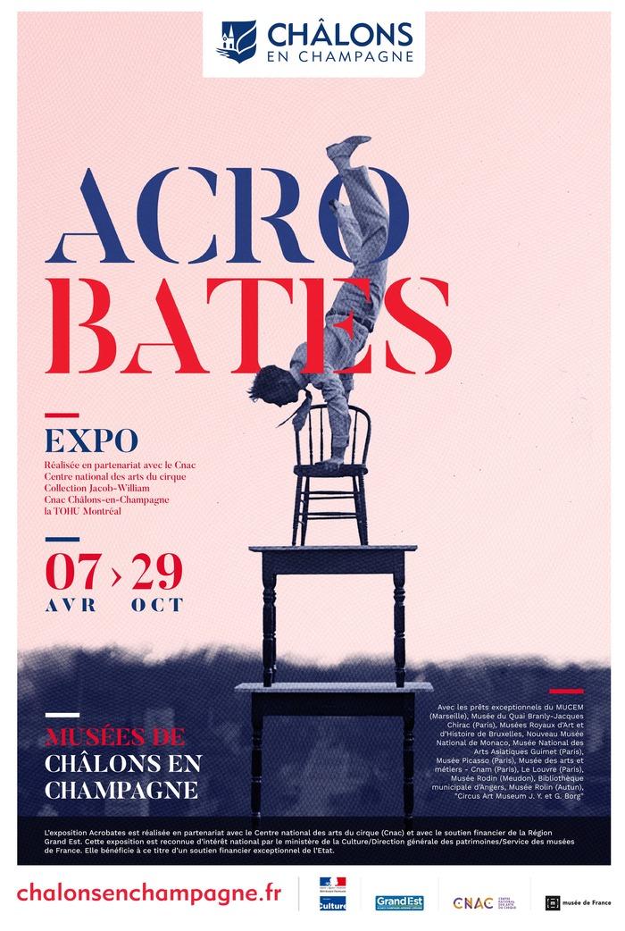Journées du patrimoine 2018 - Exposition « Acrobates » dans les trois musées municipaux