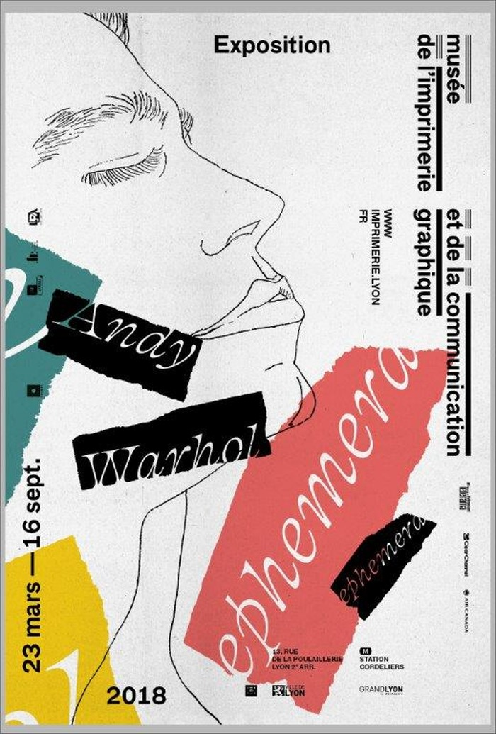 Journées du patrimoine 2018 - Exposition «Andy Warhol Ephemera».