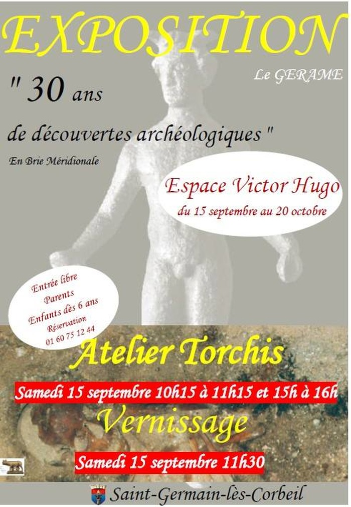 Journées du patrimoine 2018 - Exposition Archéologique