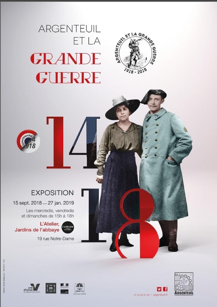 Journées du patrimoine 2018 - Exposition Argenteuil et la Grande Guerre