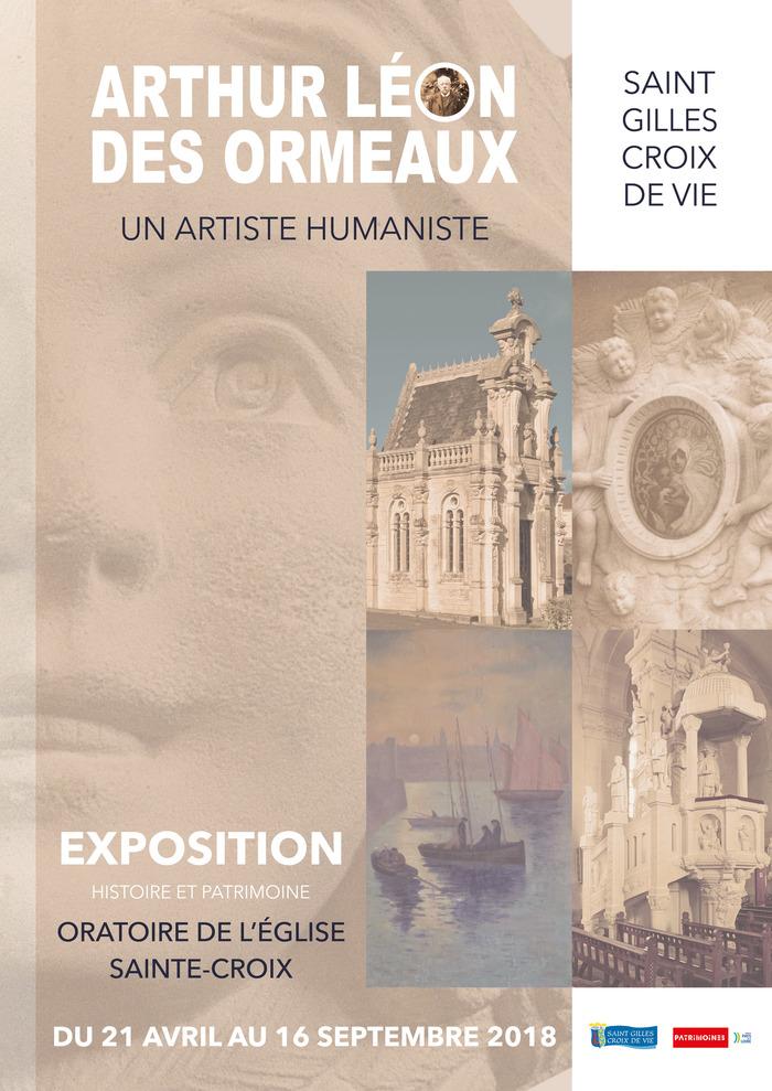 Journées du patrimoine 2018 - Exposition Arthur LÉON des ORMEAUX, un artiste humaniste