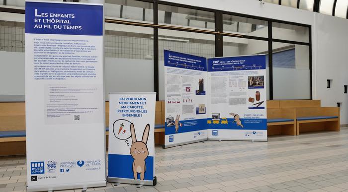 Journées du patrimoine 2018 - Exposition, autour de l'histoire de l'enfance à l'hôpital