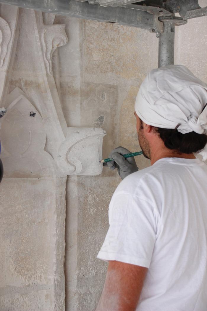 Journées du patrimoine 2018 - Exposition autour des travaux de restauration de l'église Saint-Ouen de Pont-Audemer