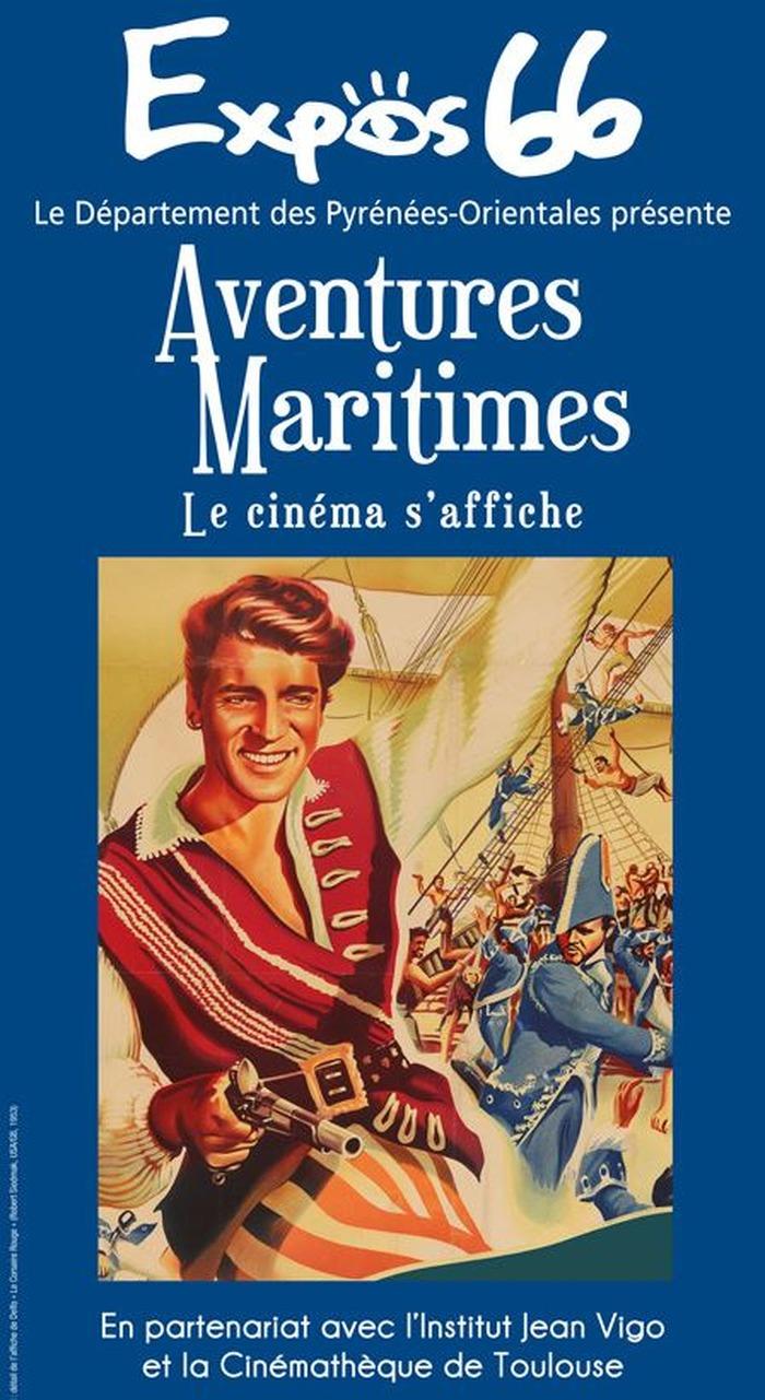 Journées du patrimoine 2018 - Exposition « Aventures Maritimes, le cinéma s'affiche »