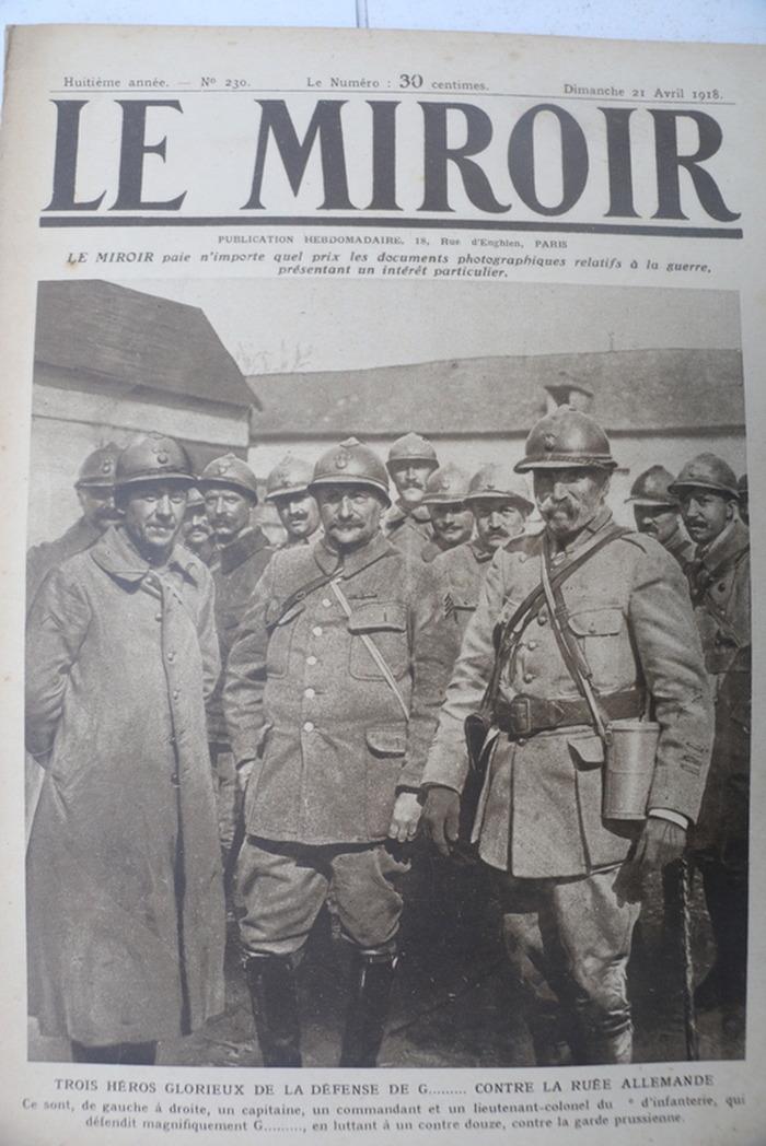 Journées du patrimoine 2018 - Exposition : Centenaire de la Grande Guerre