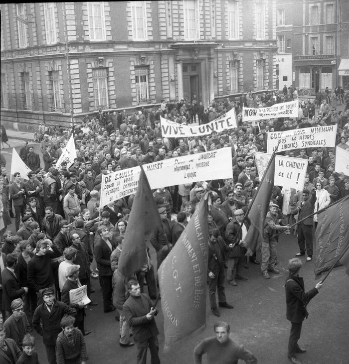 Journées du patrimoine 2018 - Exposition - collecte d'archives privées sur Mai 68 à Fécamp