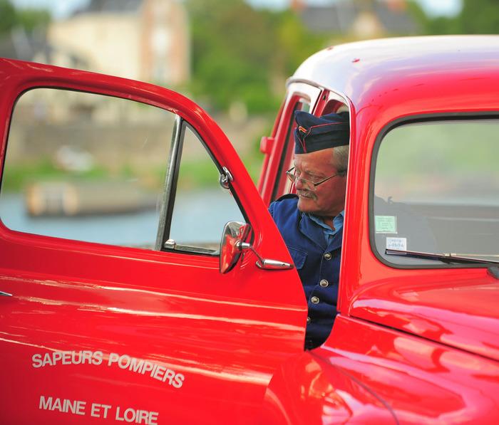 Journées du patrimoine 2018 - Exposition d'anciens véhicules d'incendie