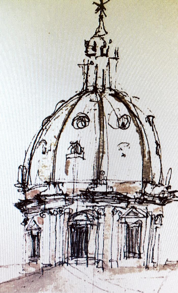 Journées du patrimoine 2018 - Exposition d'aquarelle: Voyage à Rome
