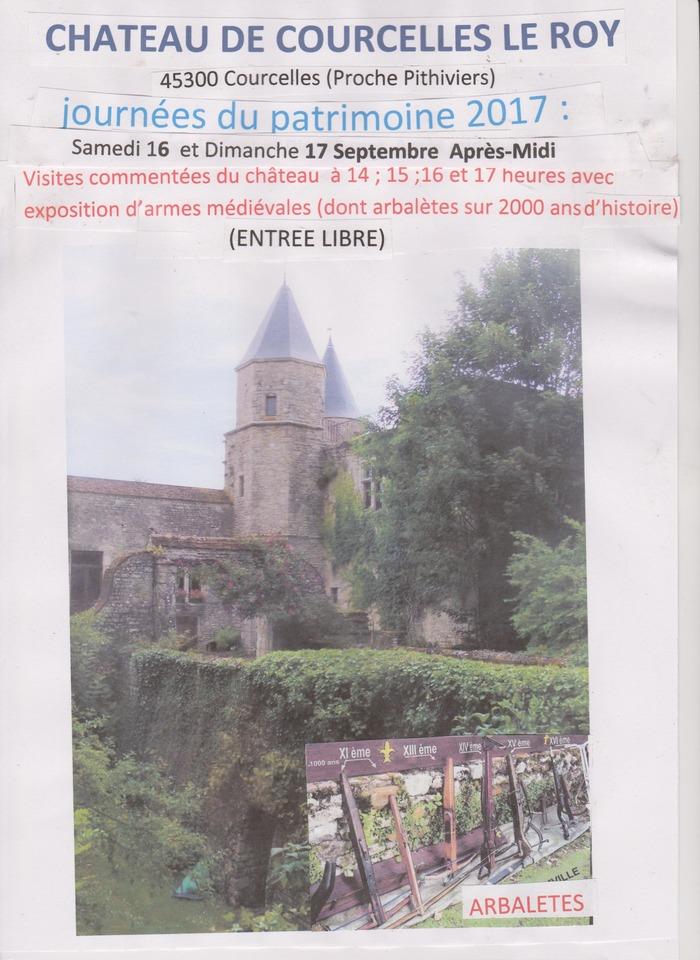 Journées du patrimoine 2017 - Exposition d'armes médiévales
