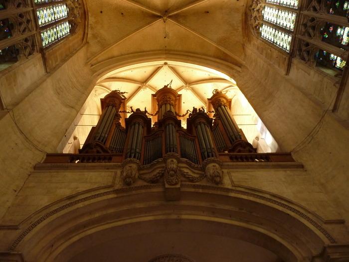 Crédits image : Grandes orgues de la cathédrale de Troyes - Photographie : Marie-Anne Ballot