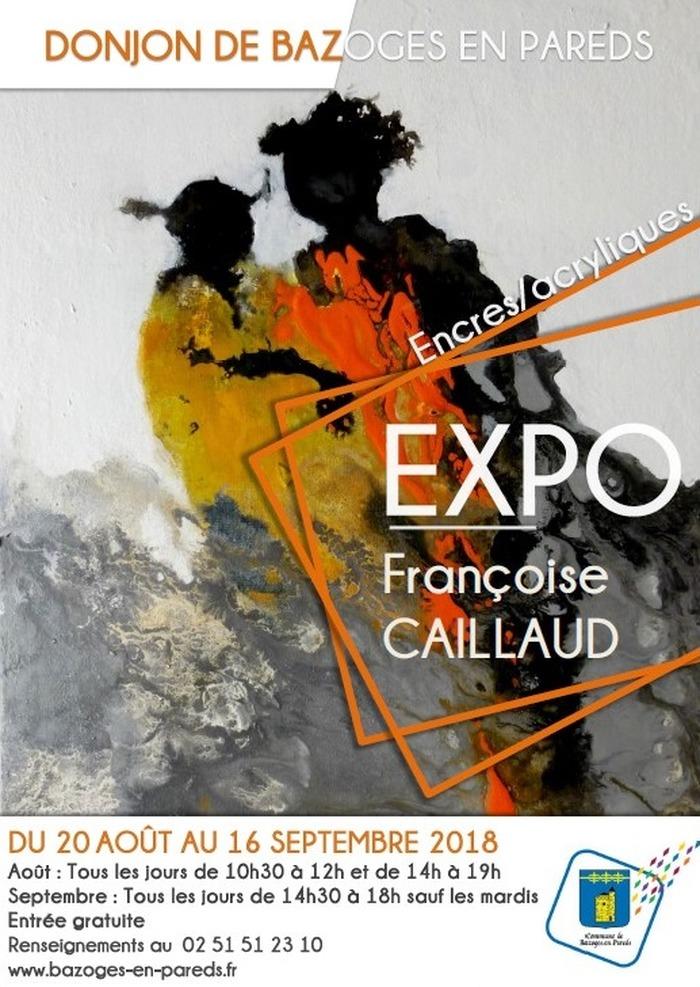 Journées du patrimoine 2018 - Exposition d'encres et d'acryliques - Françoise Caillaud