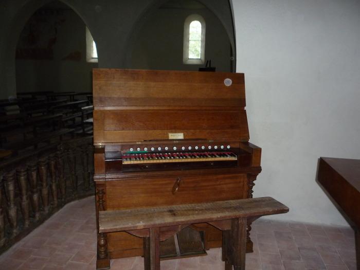 Journées du patrimoine 2018 - Exposition d'harmoniums à l'église Notre-Dame de Goudosse