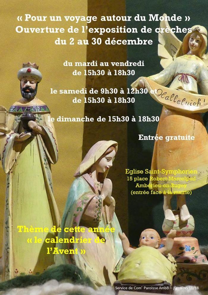 Exposition de crèches à Ambérieu