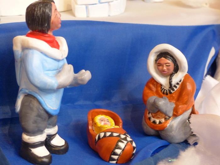 Exposition de crèches et de sapins de Noël