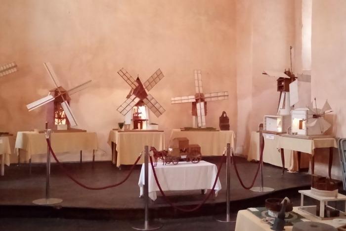 Journées du patrimoine 2018 - Exposition de maquettes de moulins