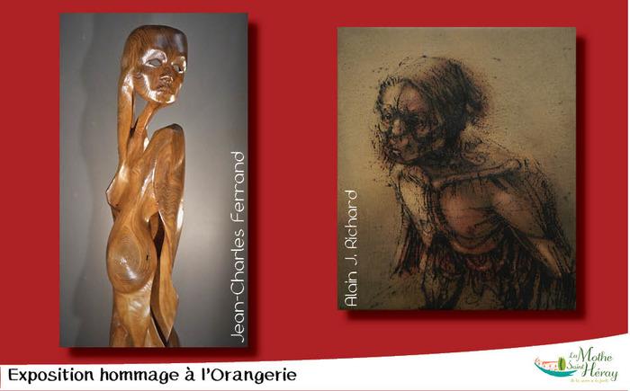 Journées du patrimoine 2018 - Exposition de peintures et de sculptures