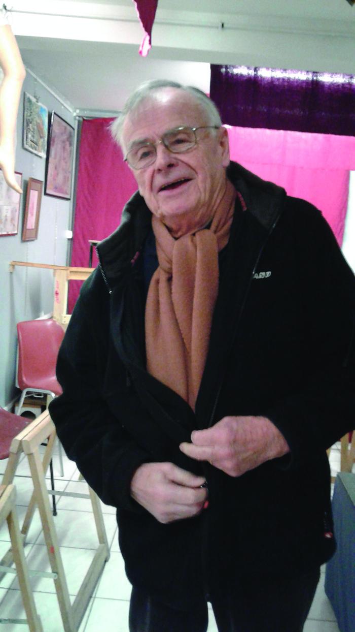 Journées du patrimoine 2018 - Exposition de peinture de Michel Janiaud