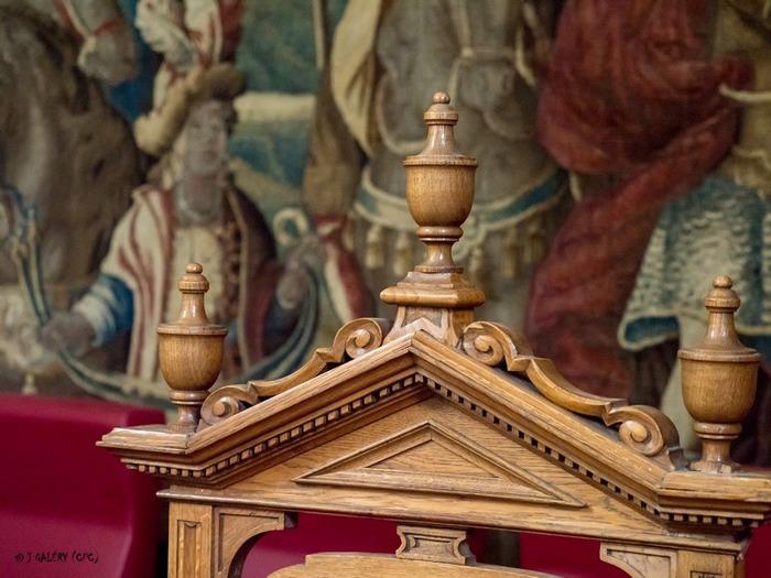 Journées du patrimoine 2018 - Exposition de photos et visite libre de la salle d'audience du palais de justice d'Aurillac.
