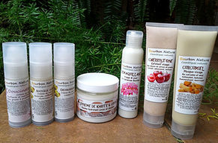 Journées du patrimoine 2018 - Exposition de produits cosmétiques naturels de la Réunion à la Maison Carrère