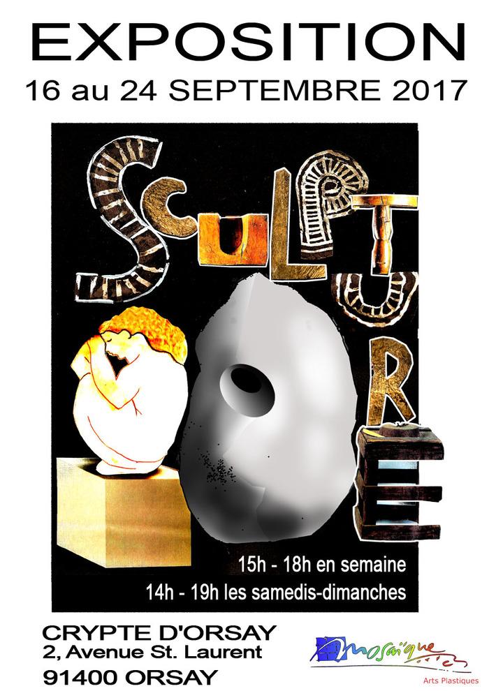 Journées du patrimoine 2017 - Exposition de Sculpture dans la Crypte d'Orsay