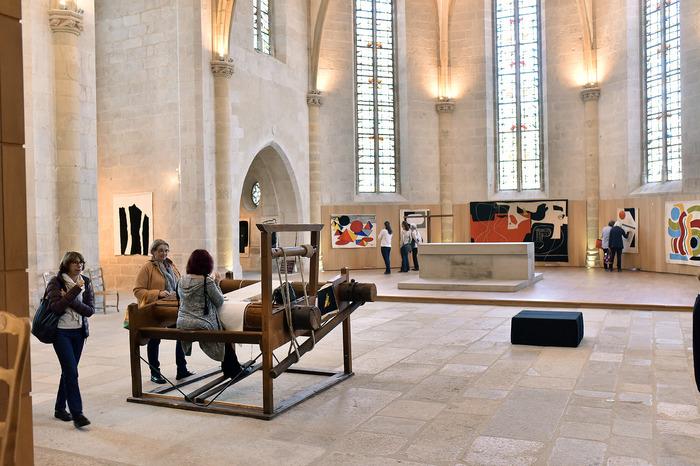 Journées du patrimoine 2018 - Exposition de tapisserie de Marc Petit