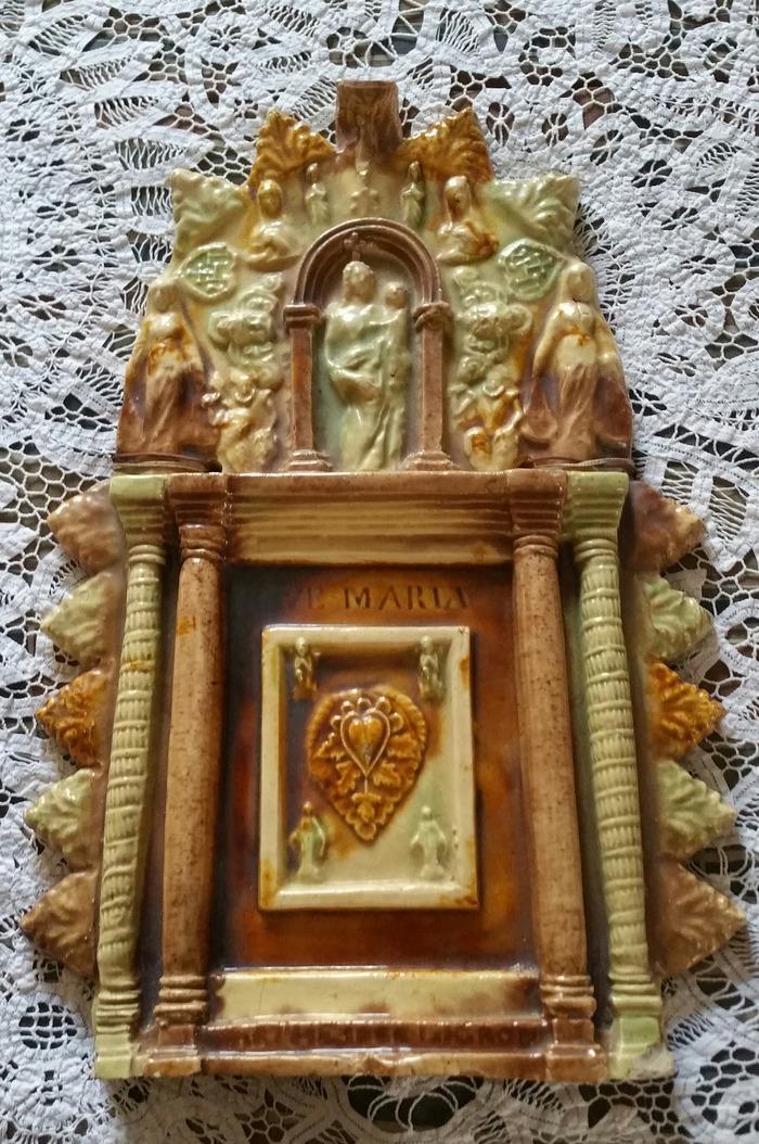 Journées du patrimoine 2018 - Exposition de terres vernissées de Ligron de l'Association Potiers et Patrimoine de Ligron