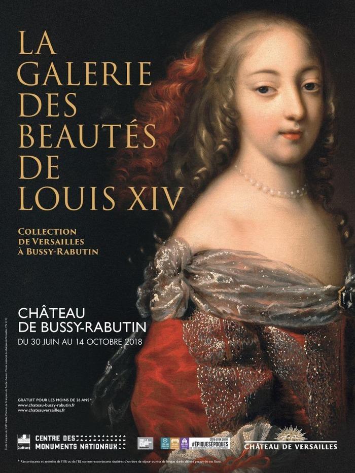 Journées du patrimoine 2018 - Exposition : De Versailles à Bussy, La Galerie des beautés de Louis XIV