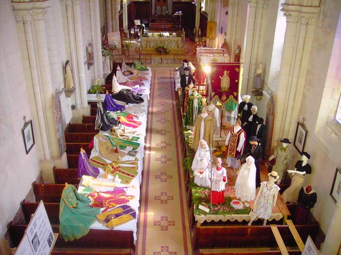 Journées du patrimoine 2017 - Exposition de vêtements liturgiques