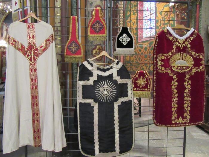Journées du patrimoine 2018 - Exposition de vêtements sacerdotaux anciens