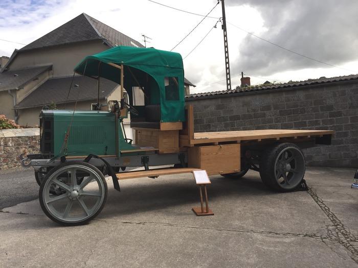Journées du patrimoine 2018 - Exposition de voitures anciennes de 1898 à 1924