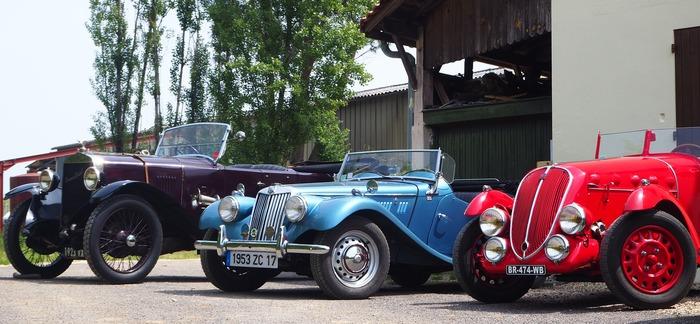 Journées du patrimoine 2018 - Exposition de voitures anciennes