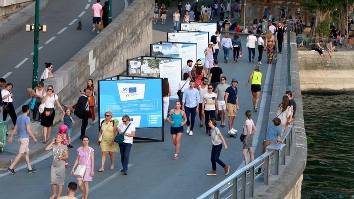 Exposition des Belles Histoires - Berges de Seine