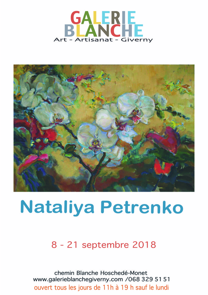 Journées du patrimoine 2018 - Exposition des oeuvres de l'artiste Nataliya Petrenko