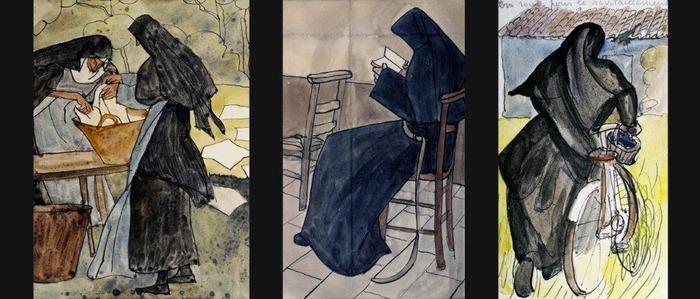 Journées du patrimoine 2018 - Exposition des oeuvres de Mère Geneviève Gallois