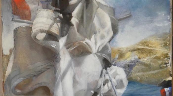 Exposition des peintres officiels de la Marine