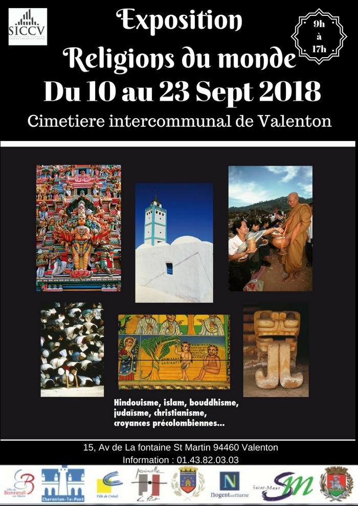 Journées du patrimoine 2018 - Exposition des religions du monde