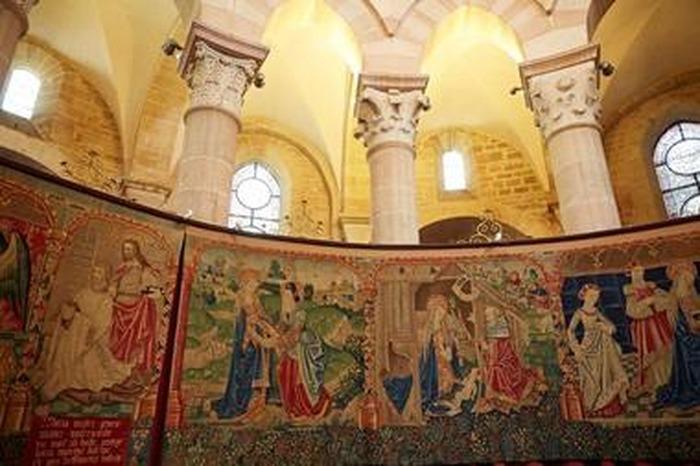 Journées du patrimoine 2018 - Exposition des tapisseries de la collégiale Notre-Dame de Beaune