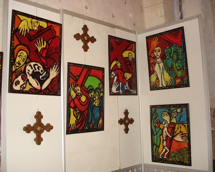 Journées du patrimoine 2018 - Exposition du Chemin de Croix Bonamy