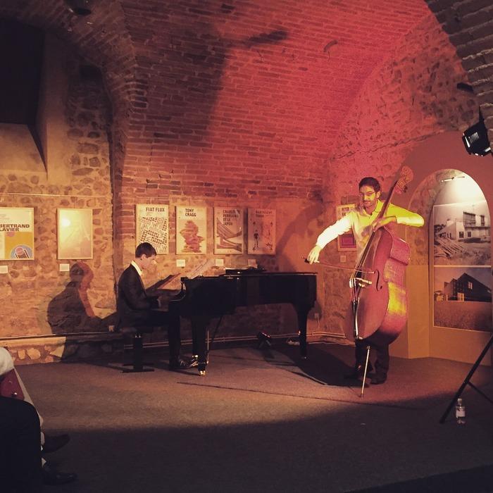 Journées du patrimoine 2018 - Exposition du musée d'art moderne et contemporain dans la galerie du caveau des arts.