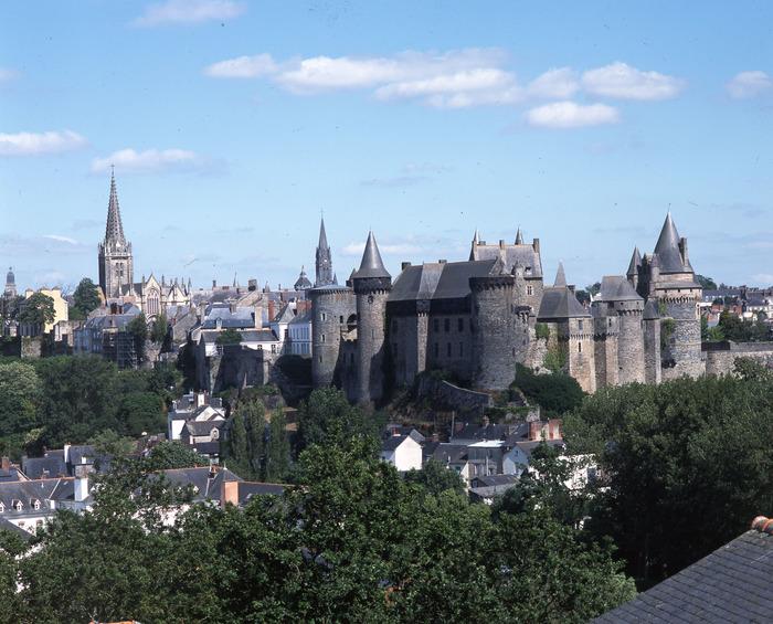 Journées du patrimoine 2018 - Exposition du plan cavalier de la ville de Vitré