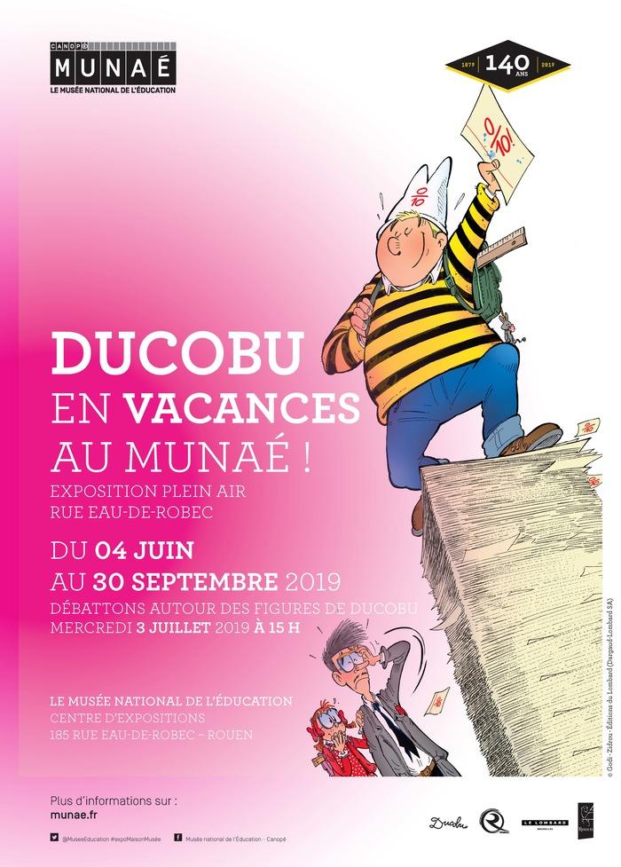 Exposition Ducobu en vacances