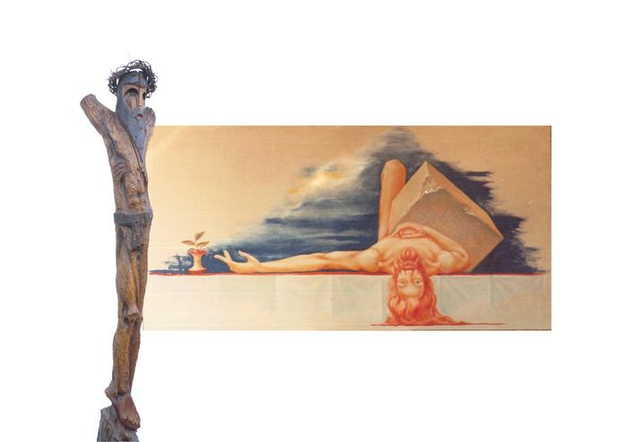Journées du patrimoine 2018 - Exposition du sculpteur, Édouard Desbiolles, à l'église Sainte-Catherine